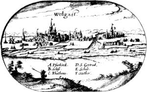 Wolgast Castle - Image: Lubinus Wolgast
