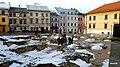 Lublin, Stare Miasto, Polska. Widok , Plac Po Farze. Widoczne zachowane fundamenty. - panoramio.jpg