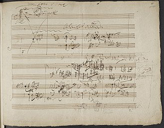 String Quartet No. 14 (Beethoven) -  Beethoven's sketches for his Op. 131