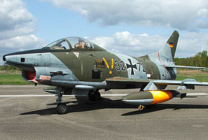 Fiat G.91 - A Fiat G.91 at the Luftwaffe Museum in Gatow