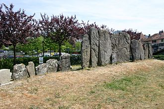 Lutry - Menhirs in Lutry