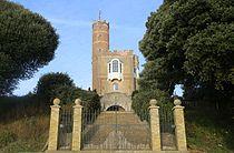 Luttrell's Tower from the beach.JPG
