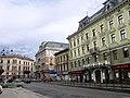 Lwów , Polish , Lviv , Львов - Prospekt Swobody, dawniej w Polsce Wały Hetmanskie - panoramio.jpg