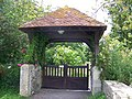 Lych gate, St Mary the Virgin, Sixpenny Handley - geograph.org.uk - 854859.jpg