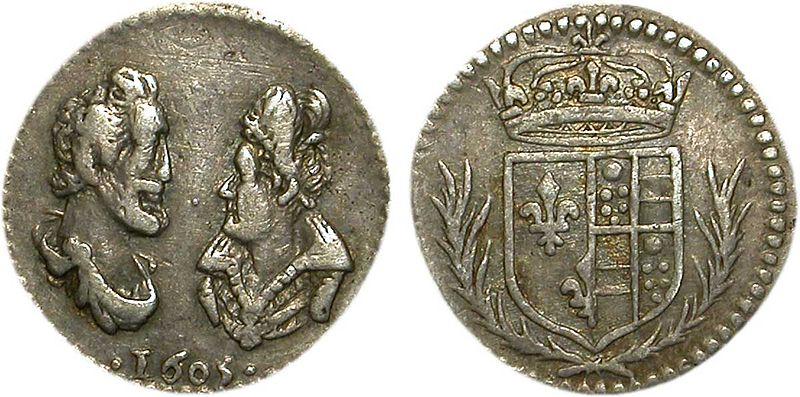 File:Médaille en argent d'Henri IV et Marie de Médicis.jpg