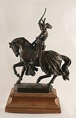 Projet pour la statue équestre de René II