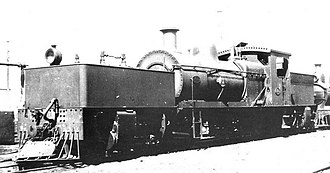 2-6-0+0-6-2 - WAGR M class no. M388, the first Double Mogul Garratt locomotive