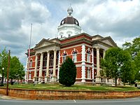 MERIWETHER COUNTY, GA COURTHOUSE