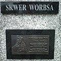 MOs810 WG 41 2017 (Sulecin, Osno, Przewoz) (Worbs plaque in Przewoz).jpg