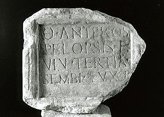 Inscription funéraire Ra 380