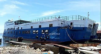 MV Lestari Maju - MV Lestari Maju after its salvage