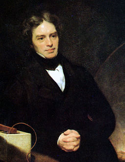 Michael Faraday's discoveries formed the foundation of electric motor technology M Faraday Th Phillips oil 1842.jpg