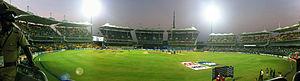2011 Indian Premier League - Image: Ma Chidambaram Stadium panaroma