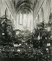 Maastricht, Dominicanenkerk, bloemententoonstelling, 1899 of 1903.jpg