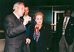 Madeleine Albright and Daniel Goldin Wait for STS-88 Launch - GPN-2002-000091.jpg