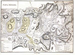 Madikeri - Map c. 1854