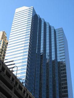 Madison Plaza Skyscraper in Chicago, Illinois