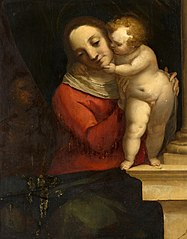 Madonna and Child, with John the Baptist