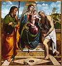 Madonna and Child with Saints James Major and Jerome by Il Romanino, c. 1512, High Museum of Art.jpg