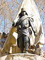Madrid - Jardines del Cabo Noval, Monumento a Luis Noval 2.JPG