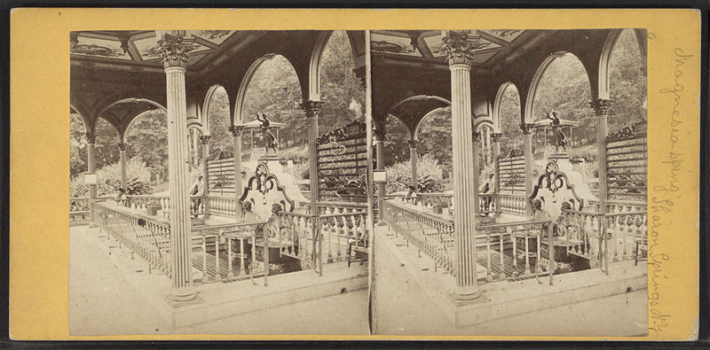 File:Magnesia Springs, Sharon Springs, N.Y, from Robert N. Dennis collection of stereoscopic views.jpg