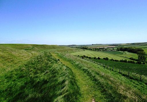 Maiden Castle Ramparts 2