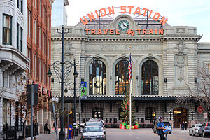 Main Facade of Denver Union Station, December 2014