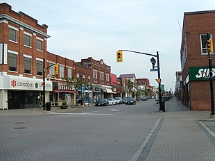 Main Street at Ferguson Street