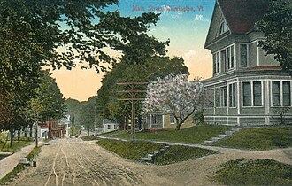 Wilmington, Vermont - Main Street Wilmington, 1914