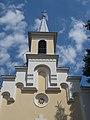 Majorok Chapel, tower, 2017 Mosonmagyaróvár.jpg