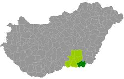 magyarország térkép makó Makói járás – Wikipédia magyarország térkép makó