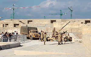 Fort Manoel - World War II reenactment at Fort Manoel