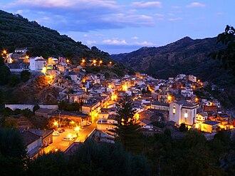 Mandanici - Mandanici by night