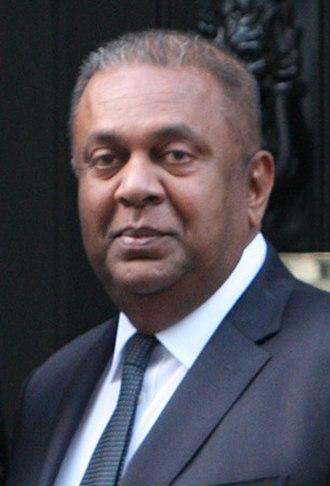Ministry of Ports and Shipping (Sri Lanka) - Image: Mangala Samaraweera