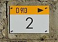 Mansle 16 Plaque routière 2014.jpg