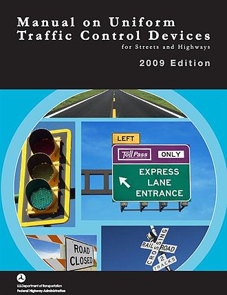 Manual on Uniform Traffic Control Devices - Cover of 2009 edition