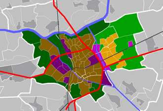 Rosmalen - Image: Map NL 's Hertogenbosch Rosmalen