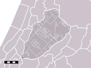 Buitenkaag - Image: Map NL Haarlemmermeer Buitenkaag