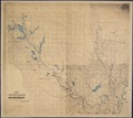 Map Showing the Route of the Army During the Red River Campaign in the Spring of 1864. Surveys & Reconnoissances... - NARA - 305633.tif