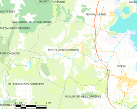 Map commune FR insee code 11295.png
