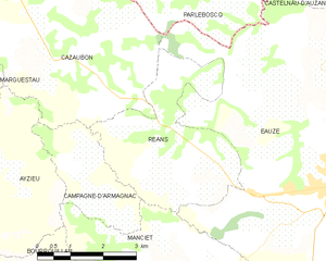 Map commune FR insee code 32340.png