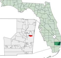 Map of Florida highlighting Wilton Manors.png