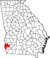 Map of Georgia highlighting Early County.svg