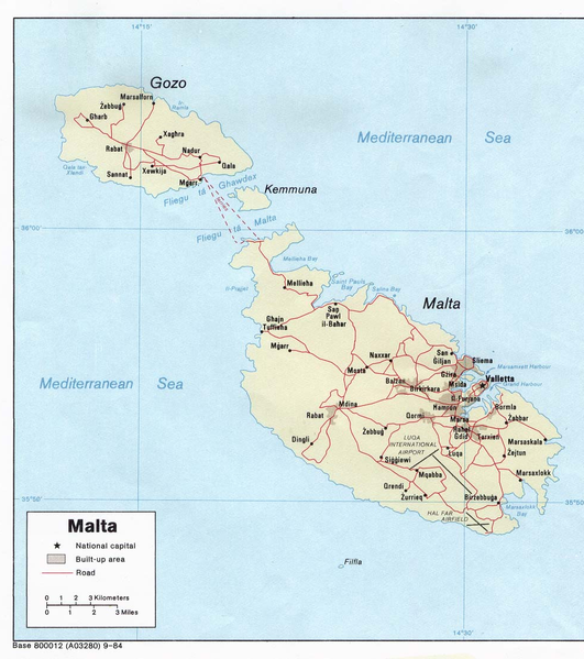 Malta  531px-Map_of_Malta_2