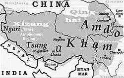 Map of Tibet Ü-Tsang Amdo and Kham.jpg