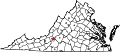 Map of Virginia highlighting Roanoke City.svg