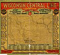 Map of the Wisconsin Central Line and connections. LOC 98688860.jpg