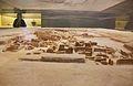 Maqueta del jaciment arqueològic d'Akrotiri, exposada al Museu de la Prehistòria de Thira.JPG