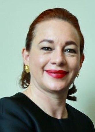 María Fernanda Espinosa - Espinosa in 2017
