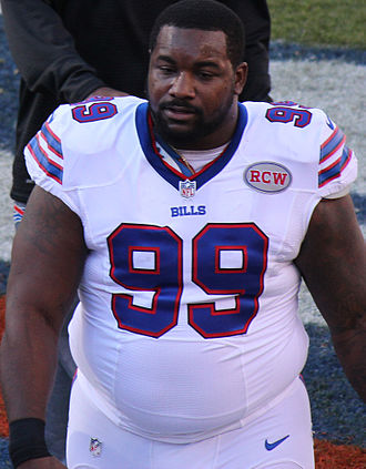Marcell Dareus - Dareus with the Bills in 2014
